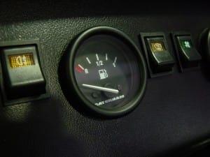 スーパーセブンの燃料計